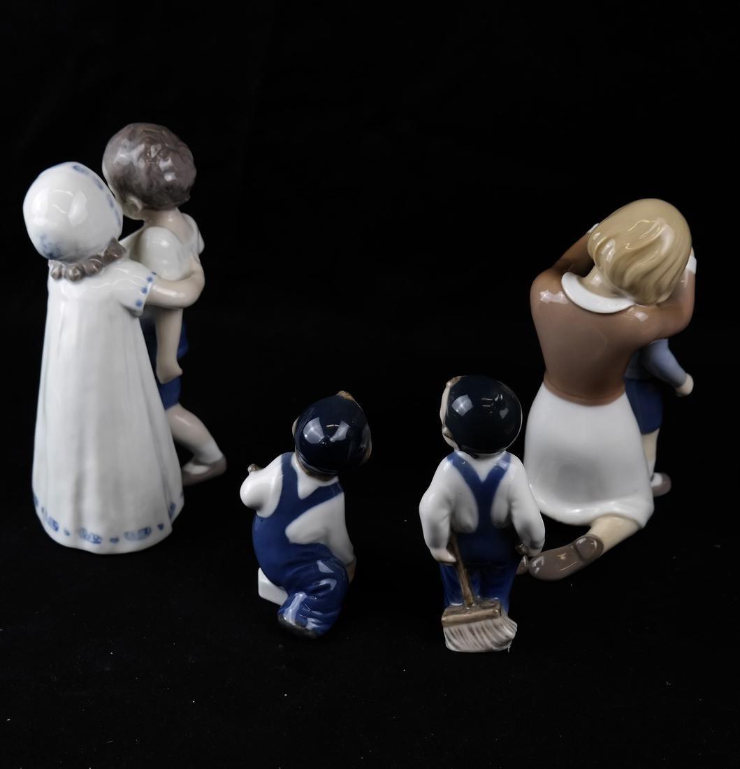 Royal Copenhagen and B&G Danish Porcelain Sculptures - 6