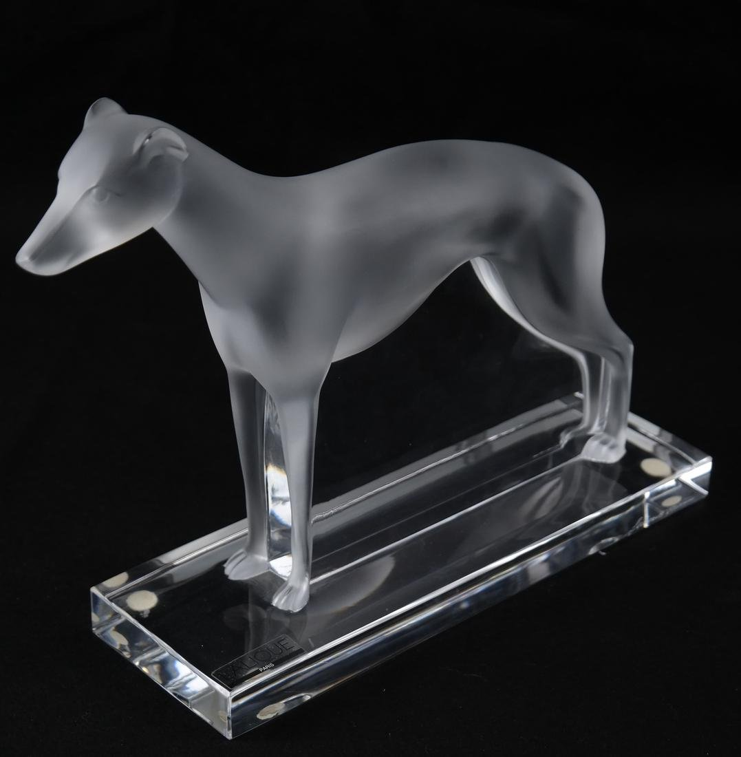 Lalique, France - Sculpture of a Pointer