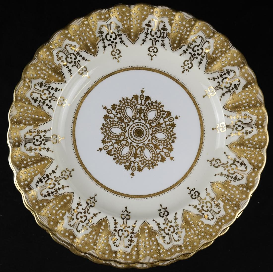 Twelve Copeland, England Plates