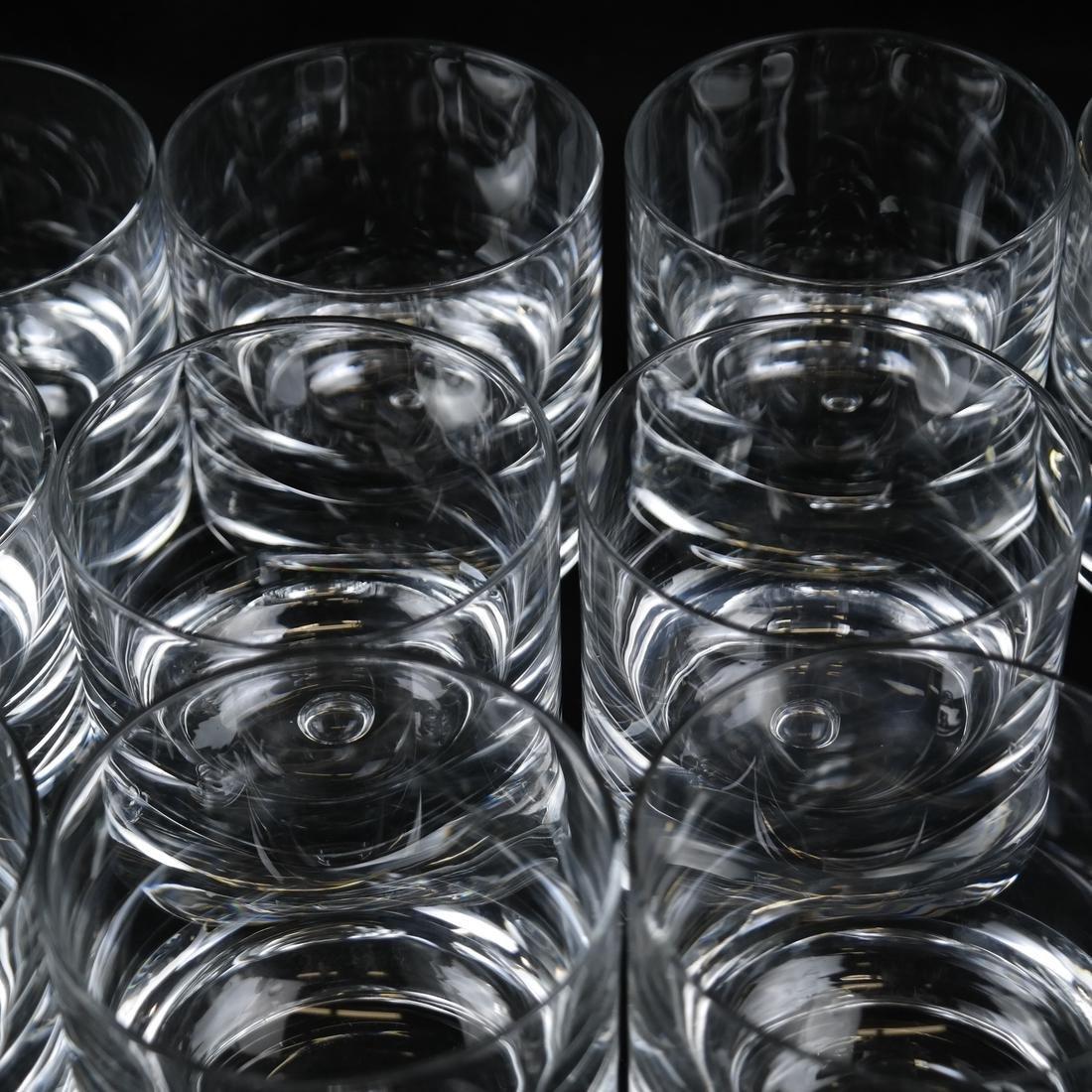Twelve Steuben-manner Rocks Glasses - 2