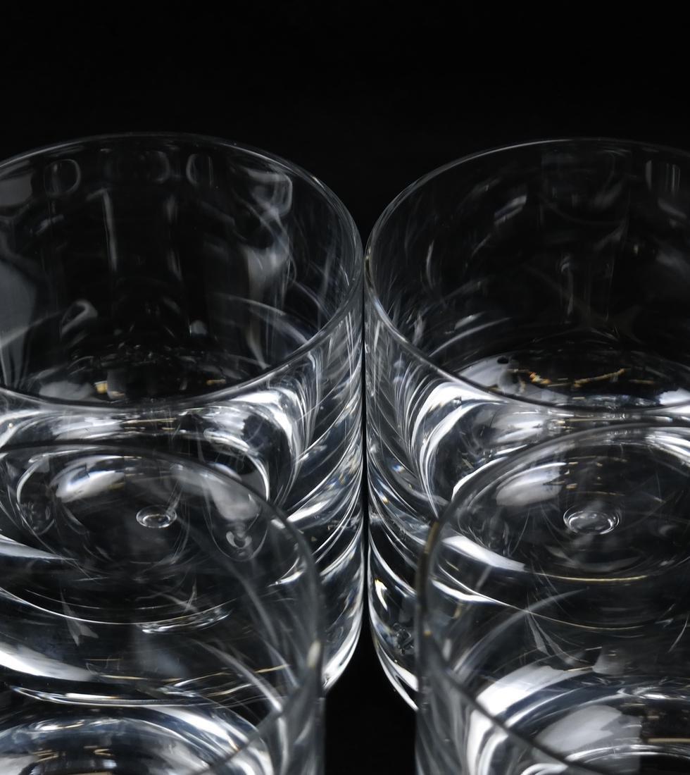 Twelve Steuben-manner Rocks Glasses - 3