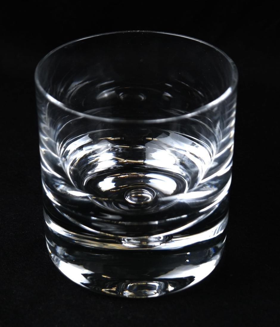 Twelve Steuben-manner Rocks Glasses - 4