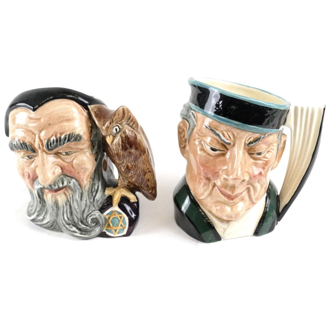 Beswick Royal Doulton Toby Mugs and Pitcher - 4