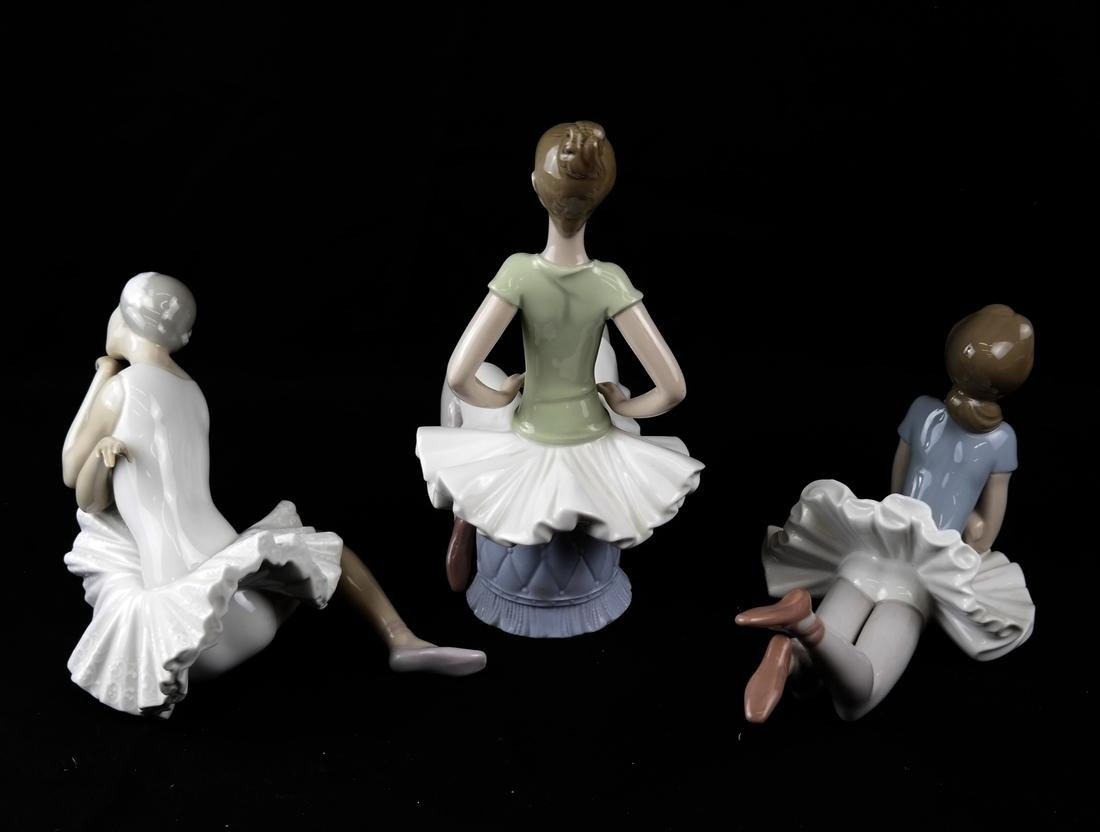 Three Lladro Figurines of Ballerinas - 5