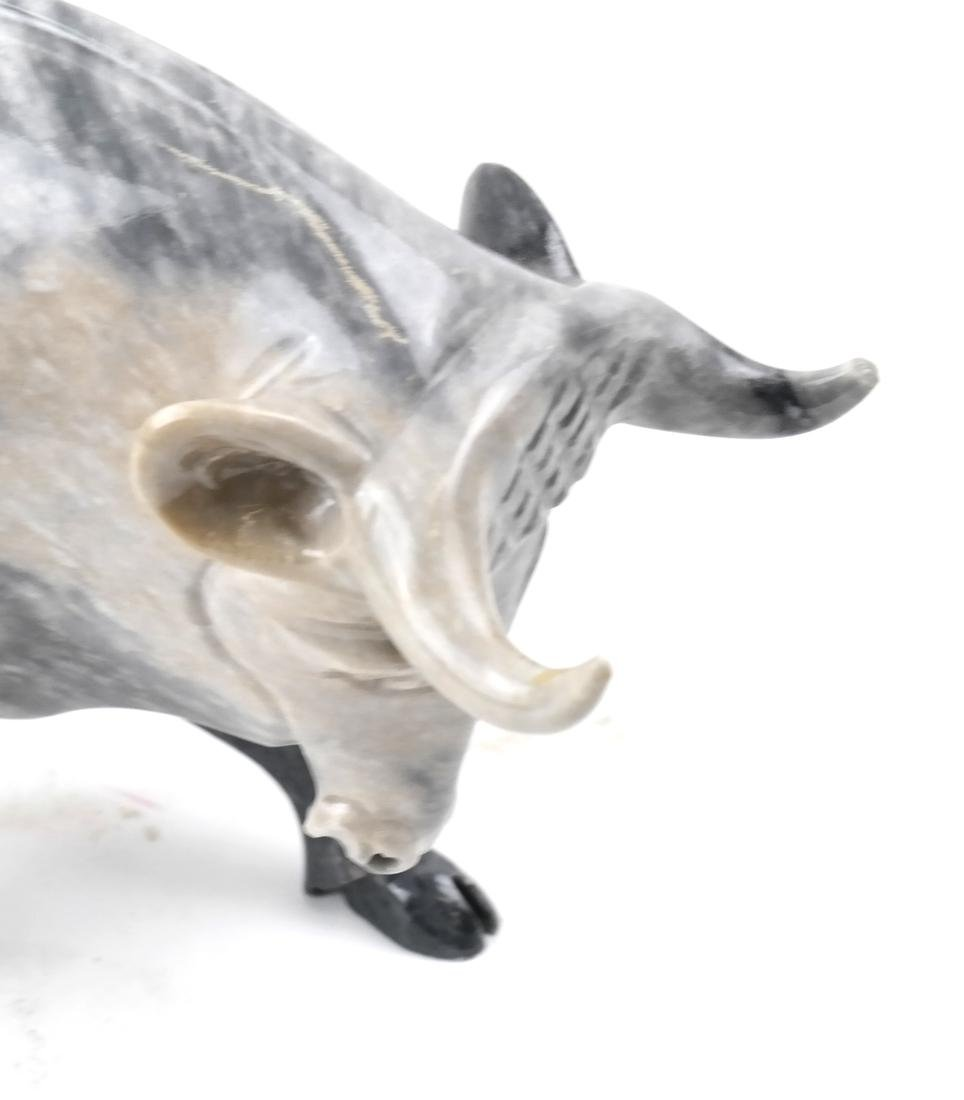 Marble Sculpture of a Bull - 2