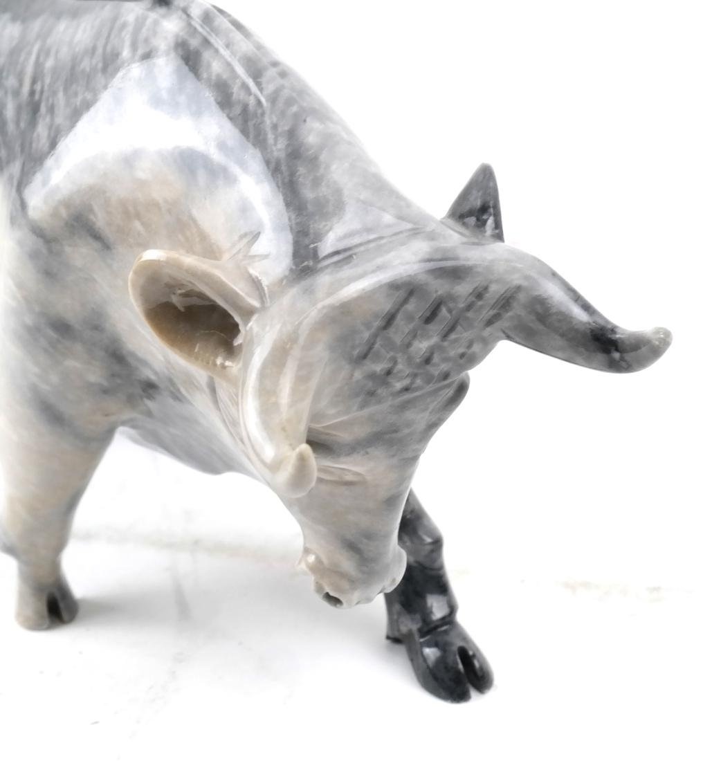 Marble Sculpture of a Bull - 3