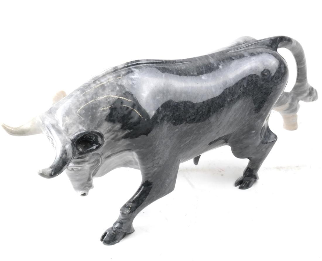 Marble Sculpture of a Bull - 5