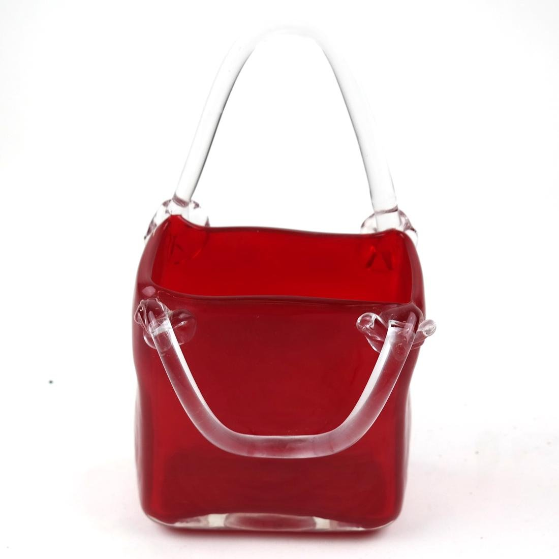 Red and Clear Crystal Pocketbook by Fifth Ave Crystal - 3