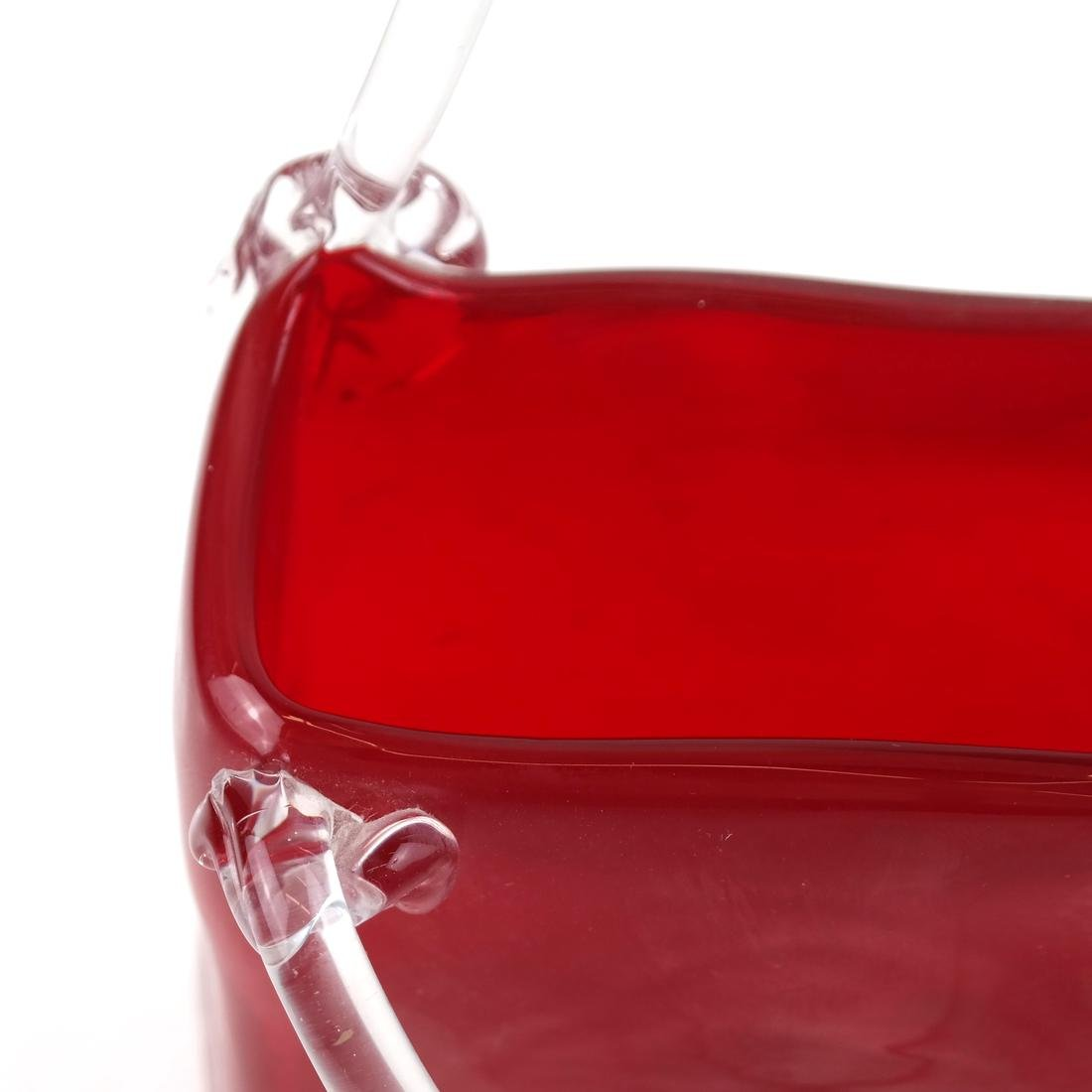 Red and Clear Crystal Pocketbook by Fifth Ave Crystal - 4