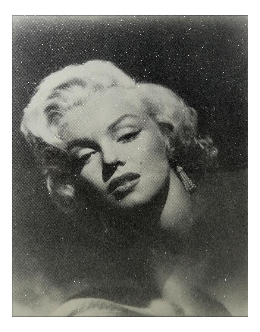 """Russell Young, """"Marilyn Glamour"""" - Mixed Media"""