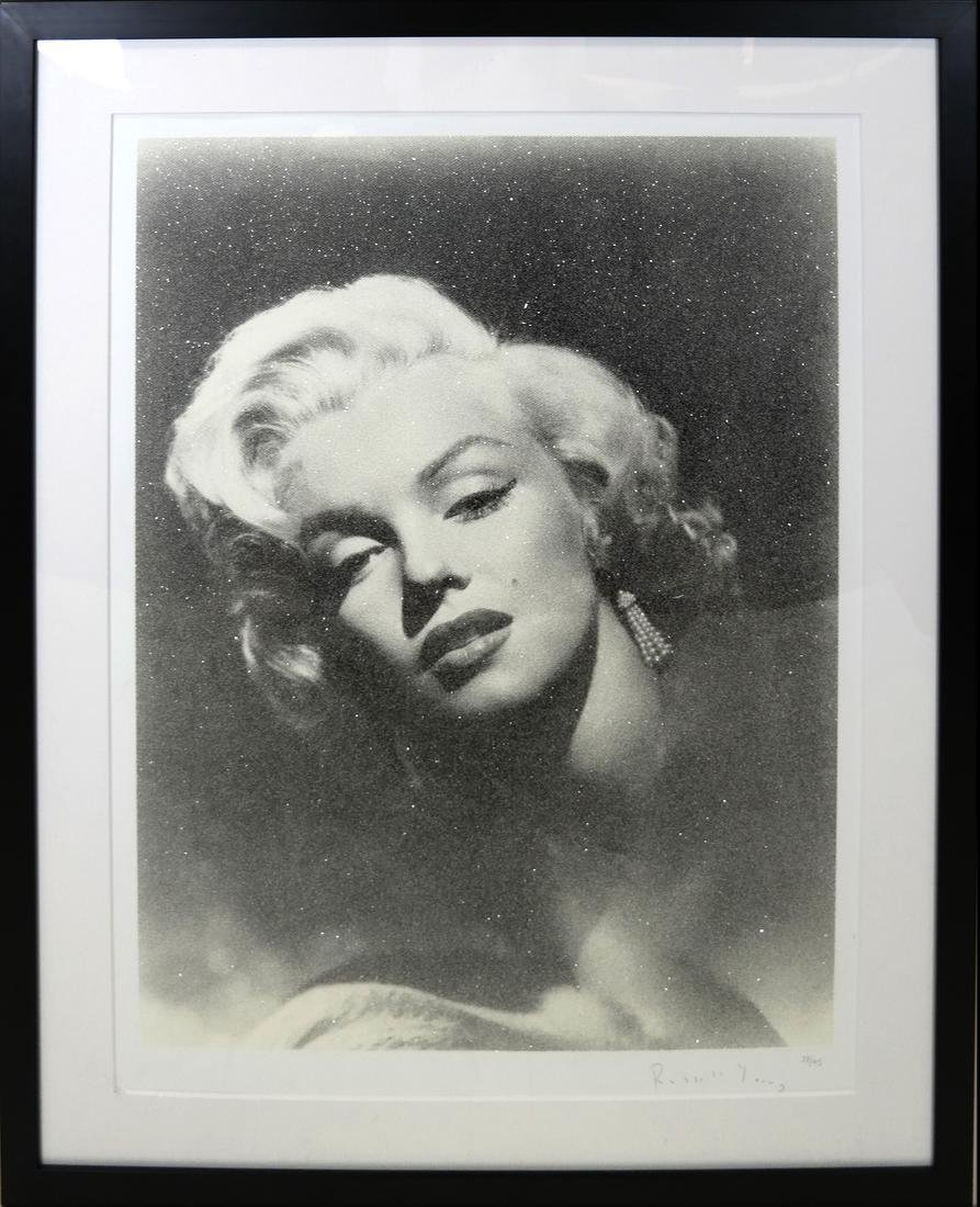 "Russell Young, ""Marilyn Glamour"" - Mixed Media - 2"