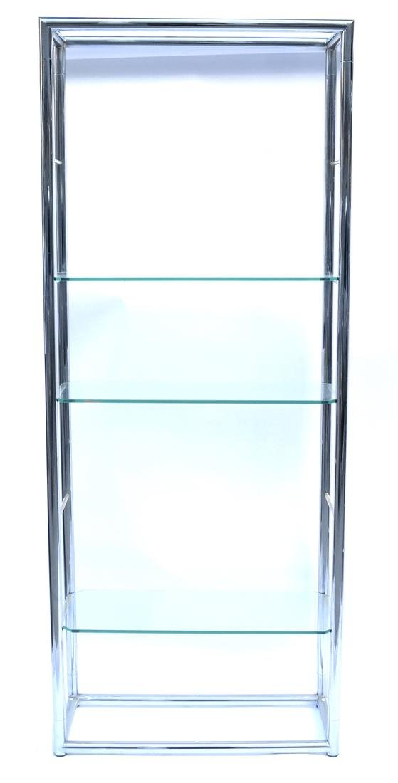 Chrome 6-tier Etagere