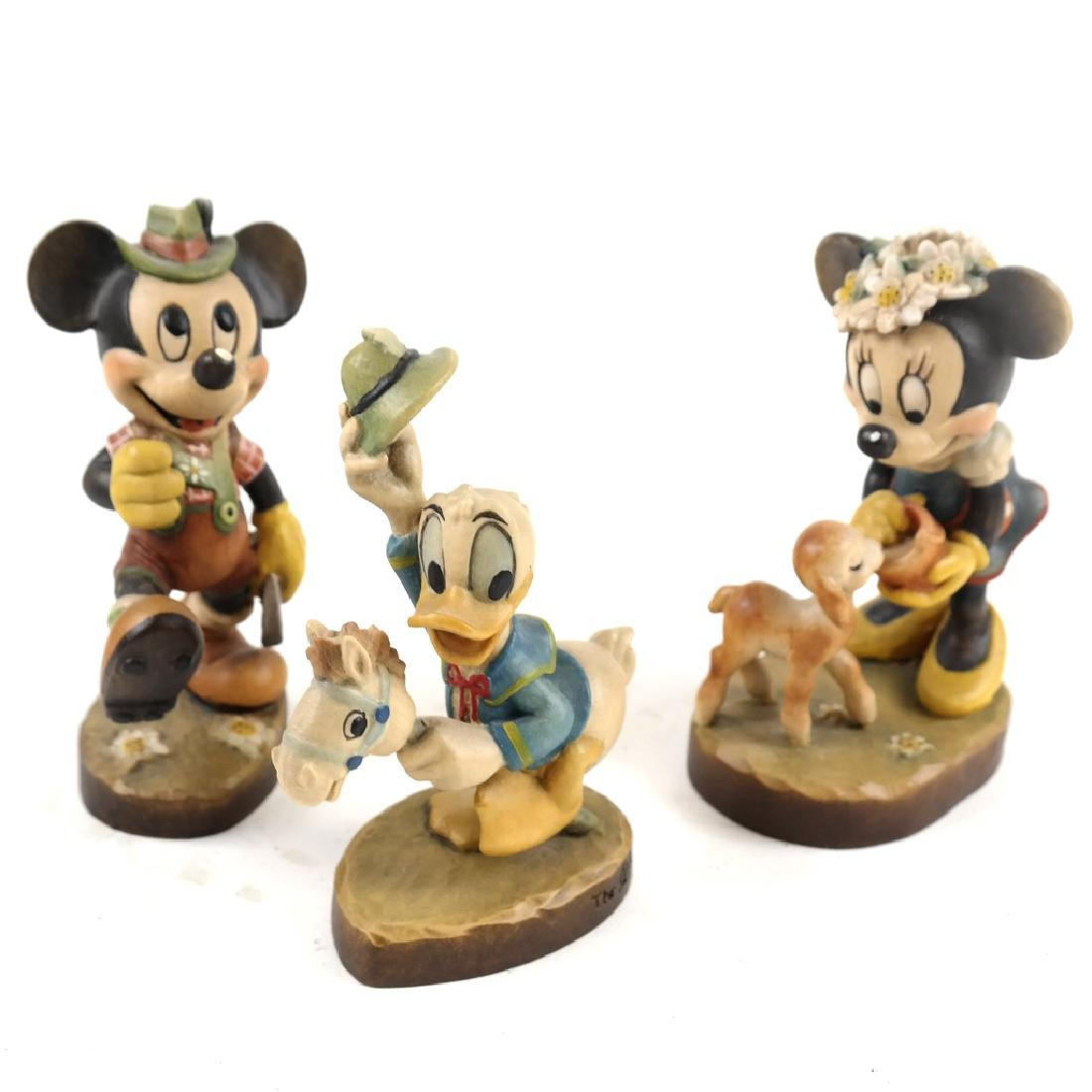 Disney Wood Figures by Anri Ulrich Bernaldi