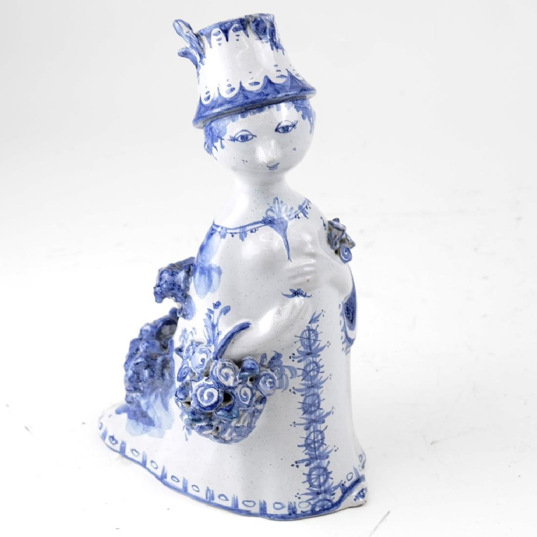 Bjorn Wiinblad Ceramic Sculpture of a Woman
