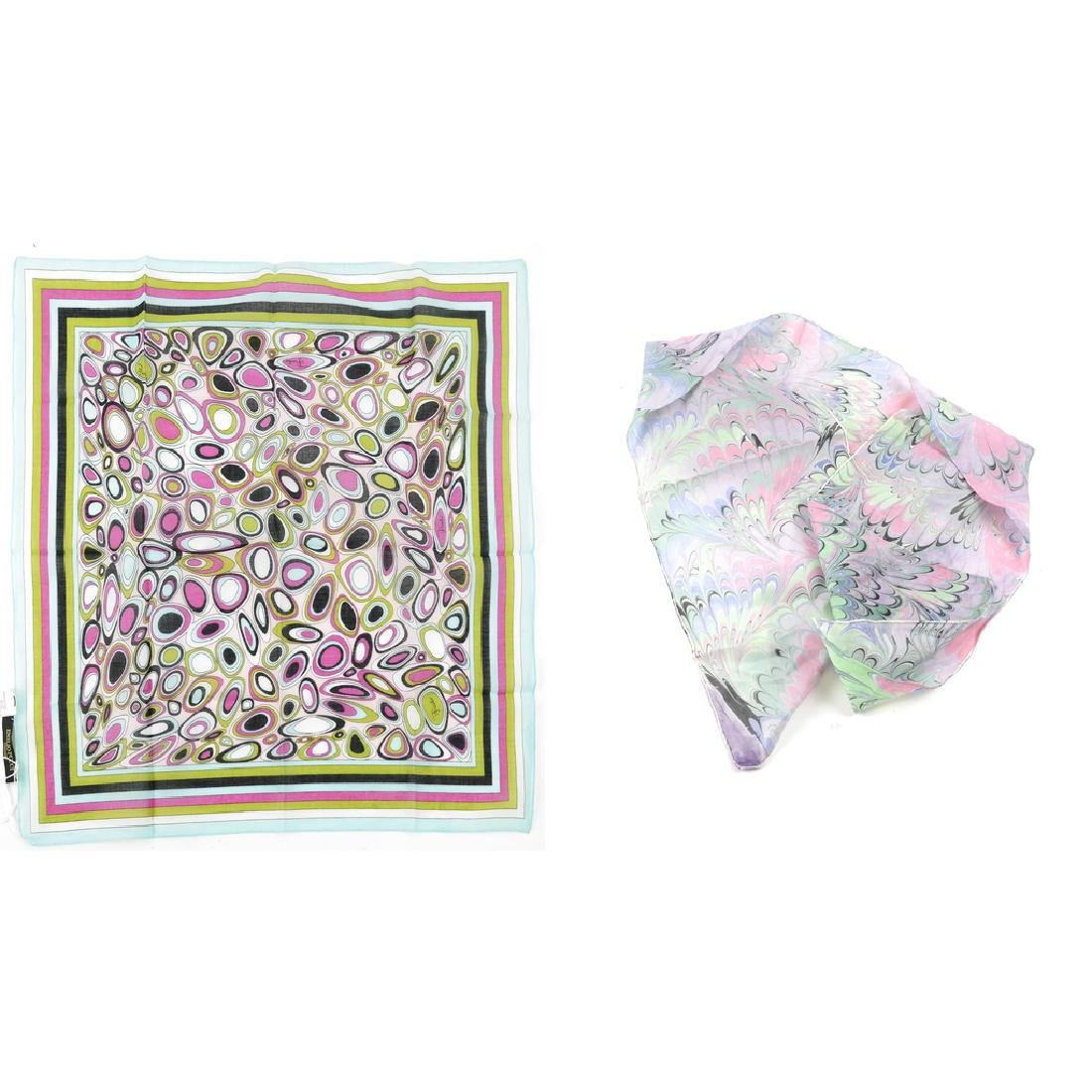 Emilio Pucci Scarf and Another