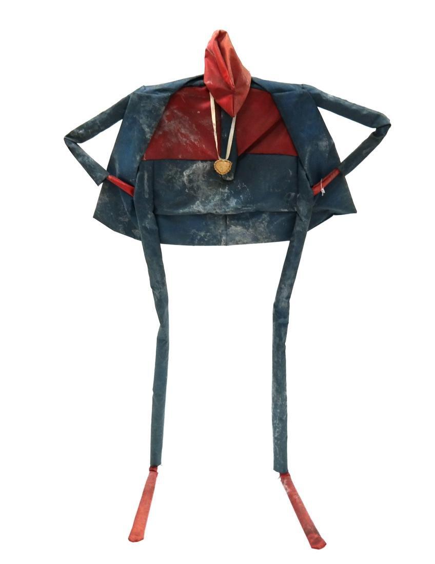 "William Dickey King ""SUPERMAN"" Sculpture"
