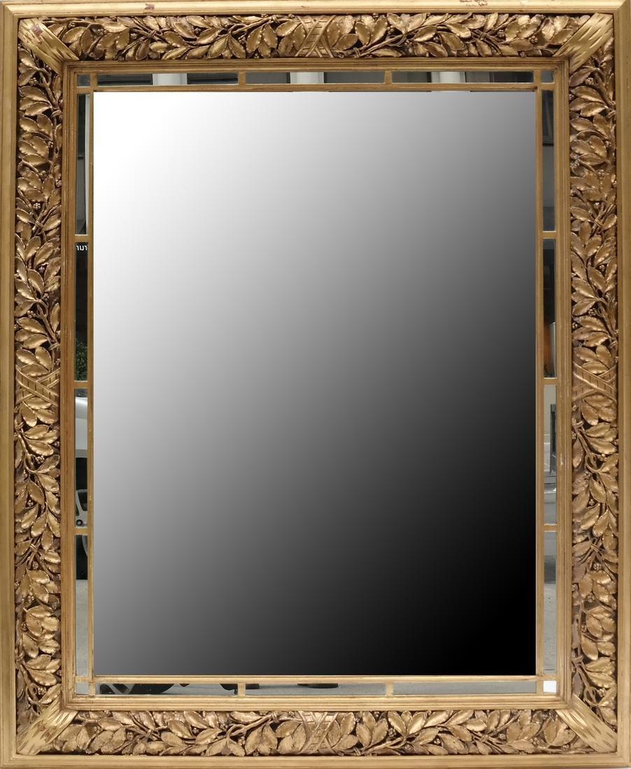Ornate Gilt Wood Mirror