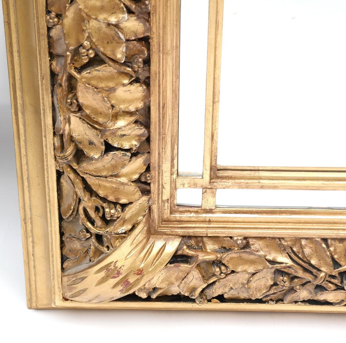 Ornate Gilt Wood Mirror - 2