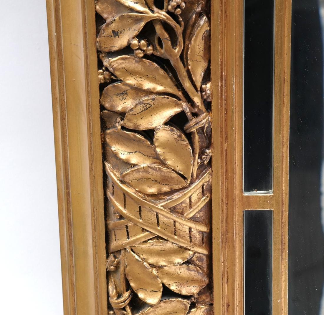 Ornate Gilt Wood Mirror - 3