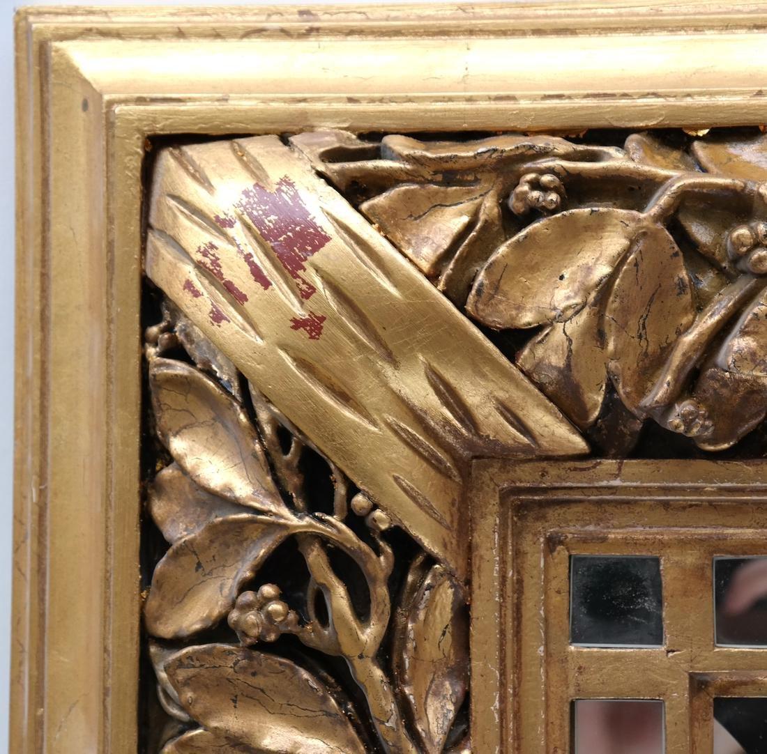 Ornate Gilt Wood Mirror - 4