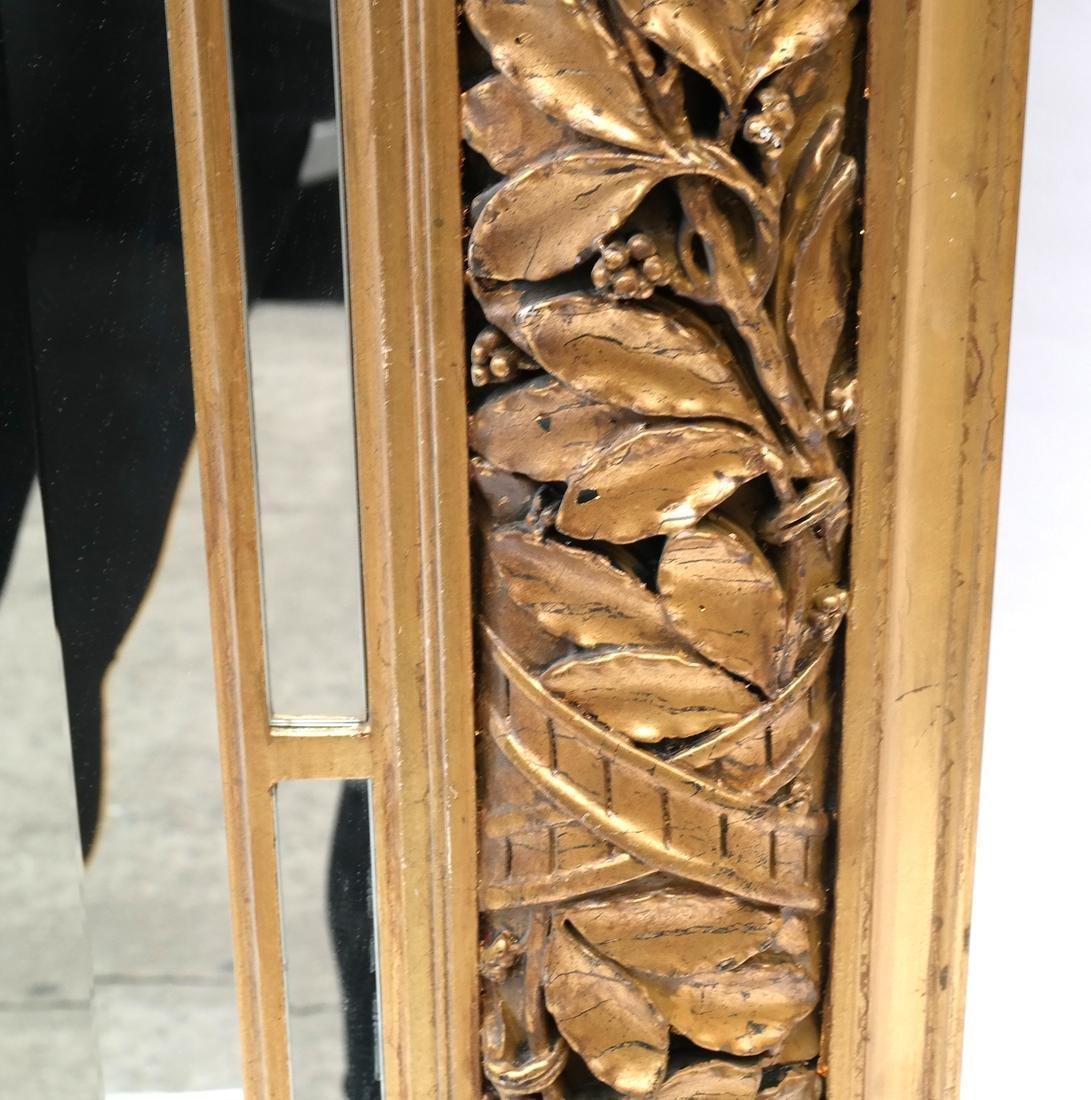 Ornate Gilt Wood Mirror - 6