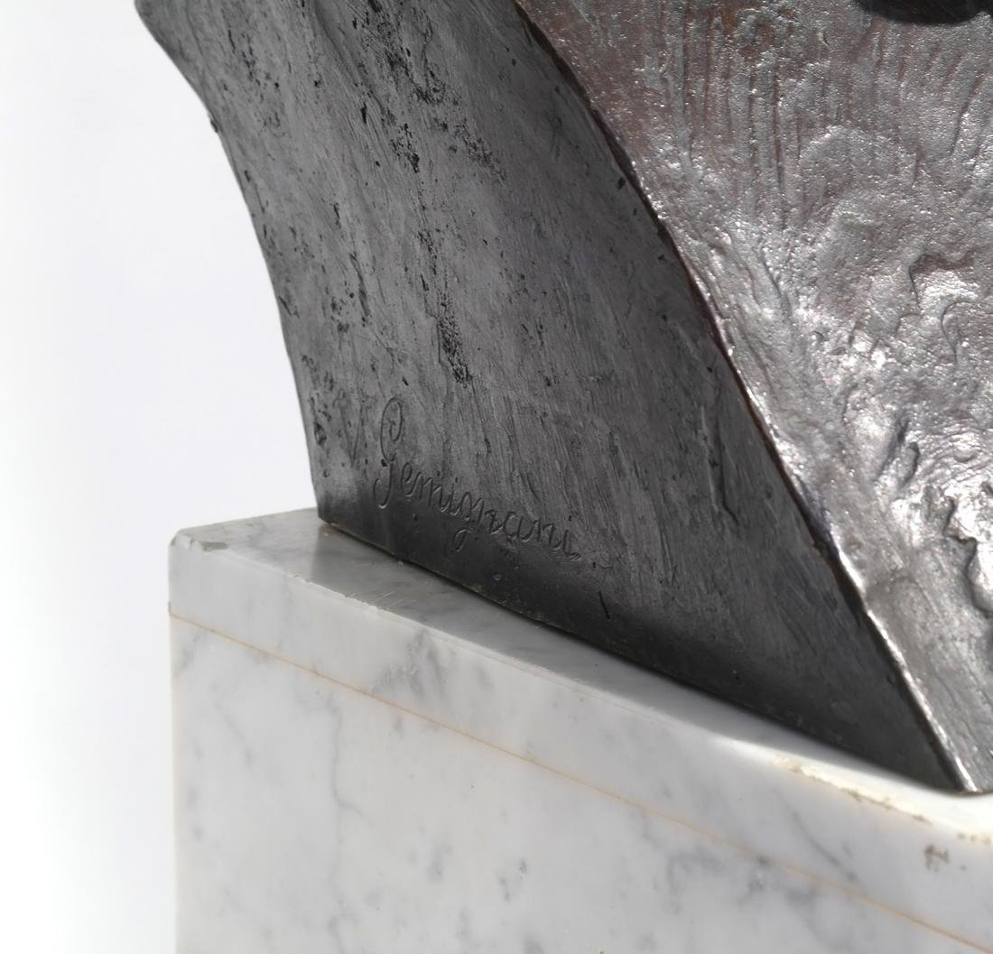 Valmore Gemignani: Dante and Michelangelo Bronzes - 5