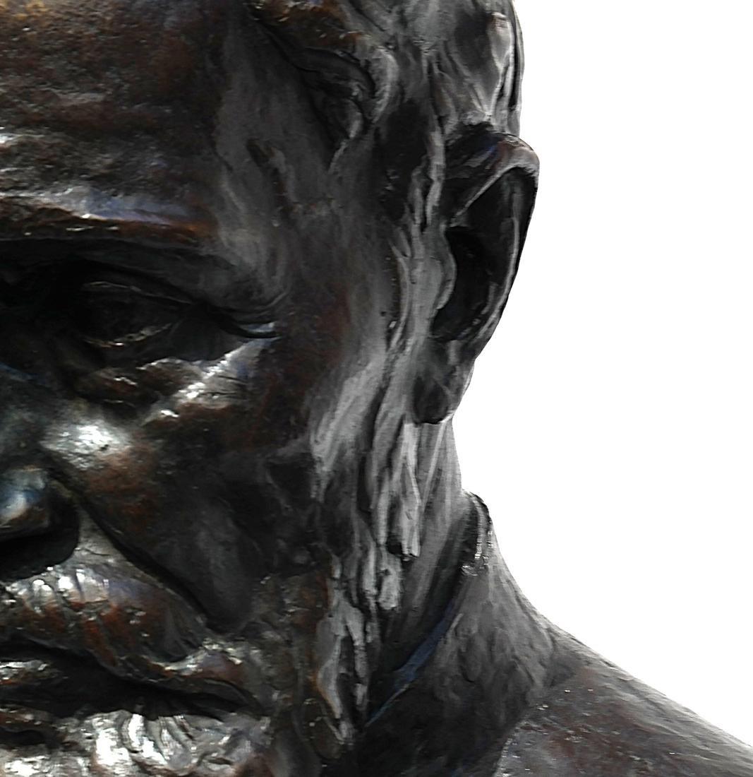 Valmore Gemignani: Dante and Michelangelo Bronzes - 6