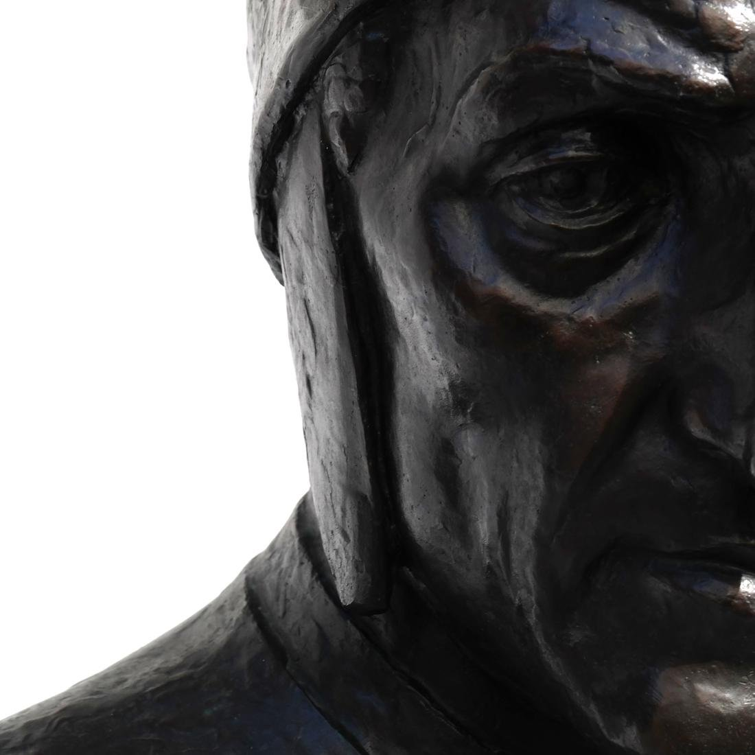 Valmore Gemignani: Dante and Michelangelo Bronzes - 7