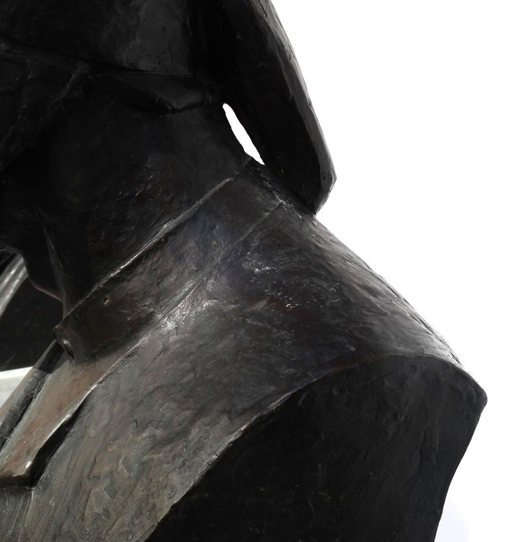 Valmore Gemignani: Dante and Michelangelo Bronzes - 8