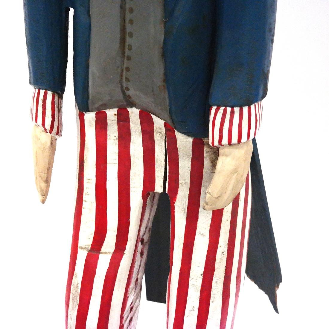 Decorated Sculpture of Uncle Sam - 4