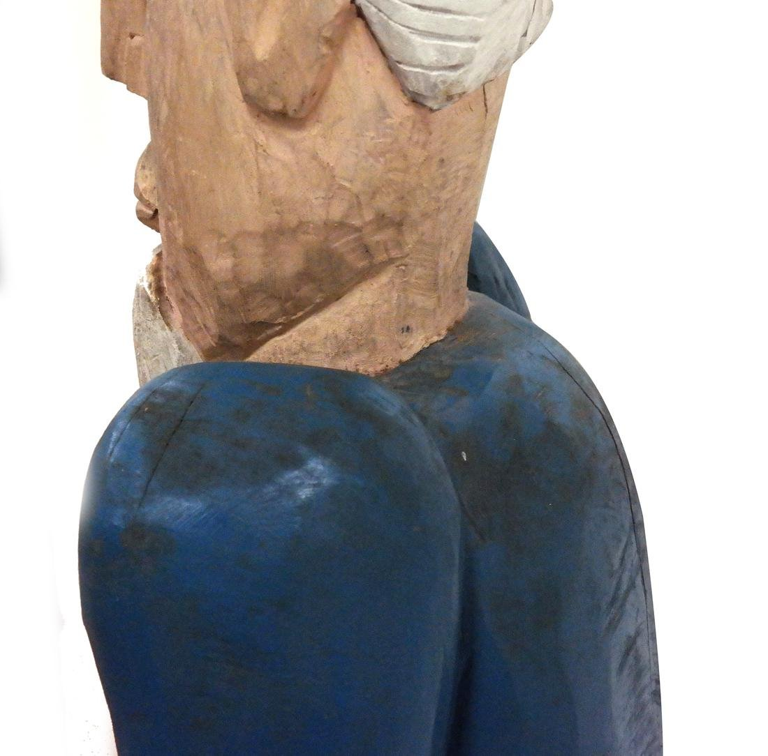 Decorated Sculpture of Uncle Sam - 7