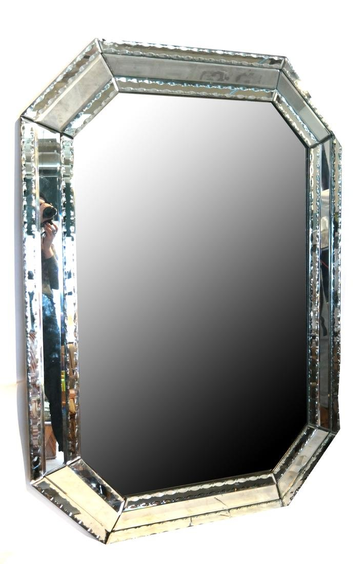Modern Venetian Glass Mirror