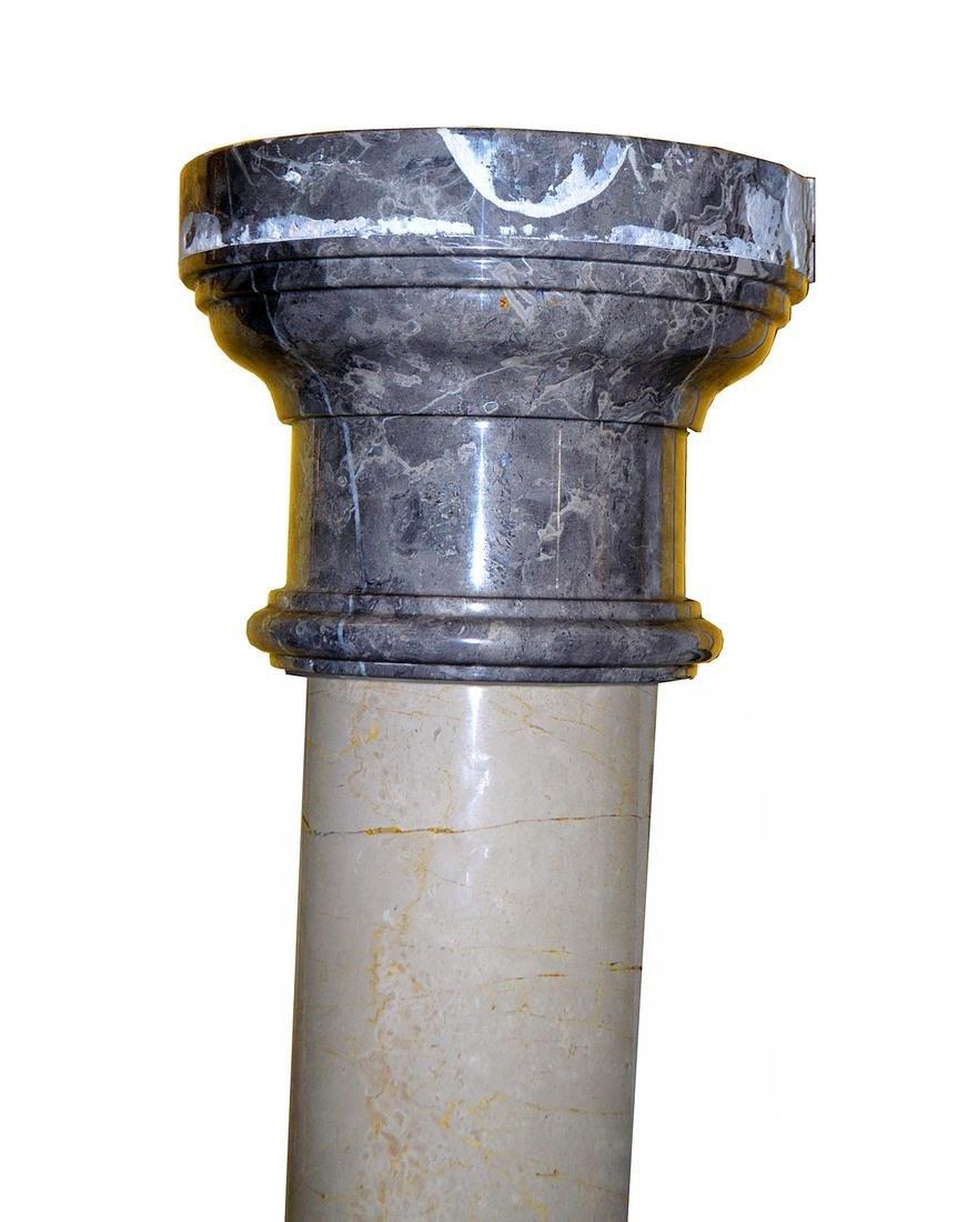 Pair of Polished Doric Columns - 6