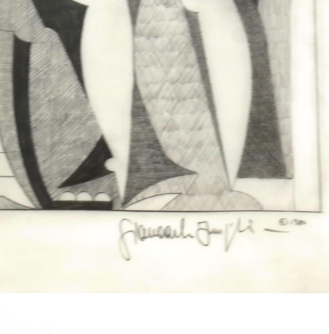 "Giancarlo Impiglia ""Madison Avenue""  - Original Sketch - 3"