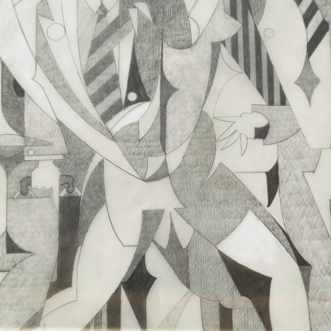 "Giancarlo Impiglia ""Madison Avenue""  - Original Sketch - 5"