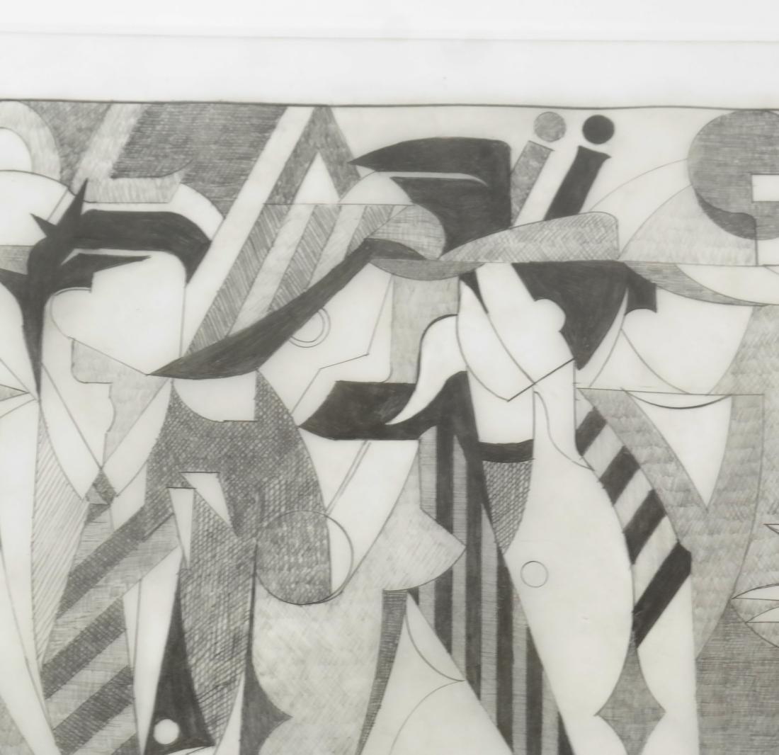 "Giancarlo Impiglia ""Madison Avenue""  - Original Sketch - 6"