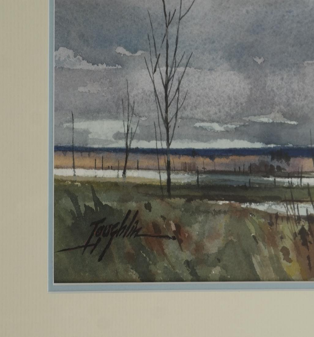 T. Loughlin, Geese - Watercolor - 3