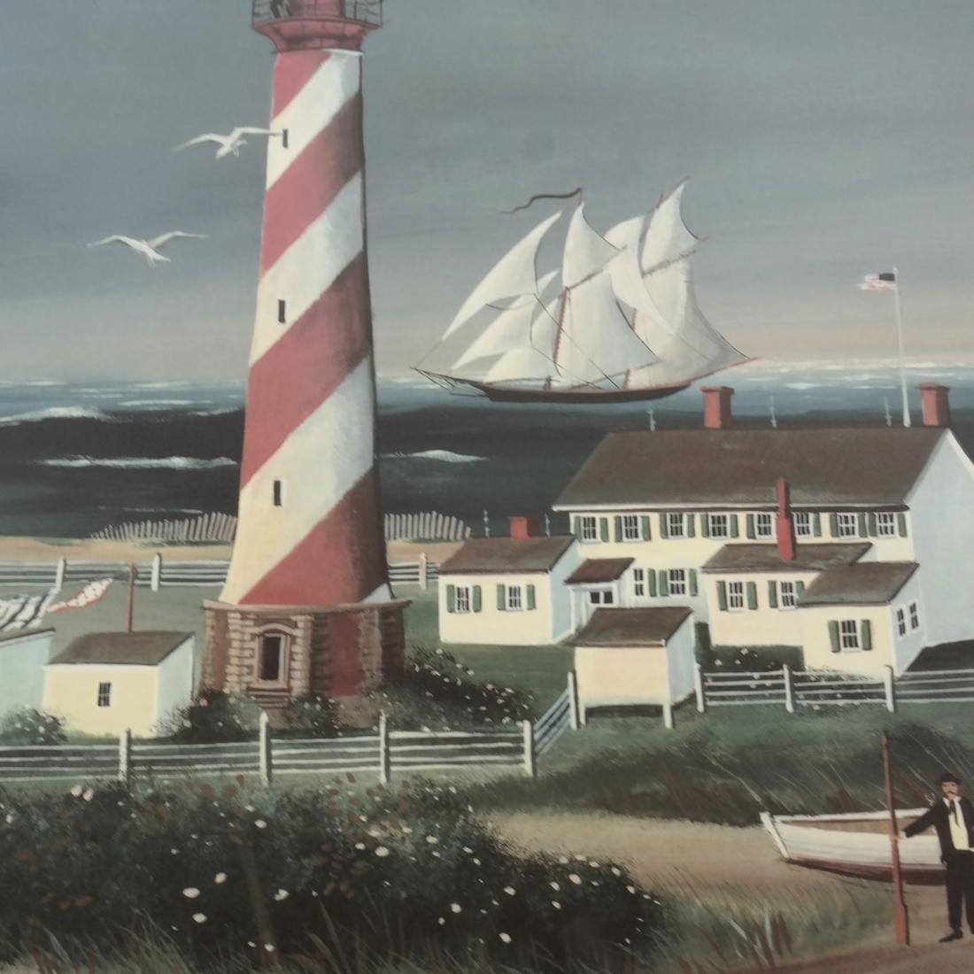 Sally Caldwell Fisher - Two Lighthouse Prints - 10