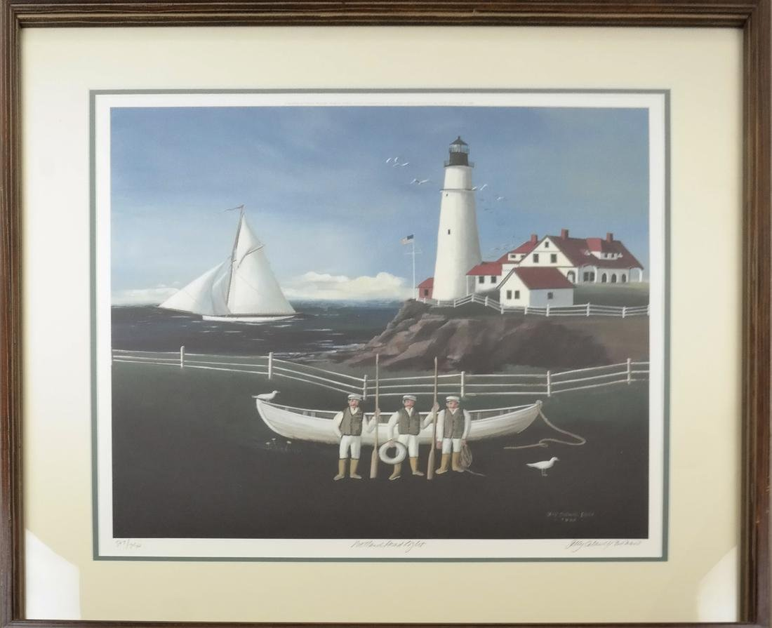 Sally Caldwell Fisher - Two Lighthouse Prints - 2