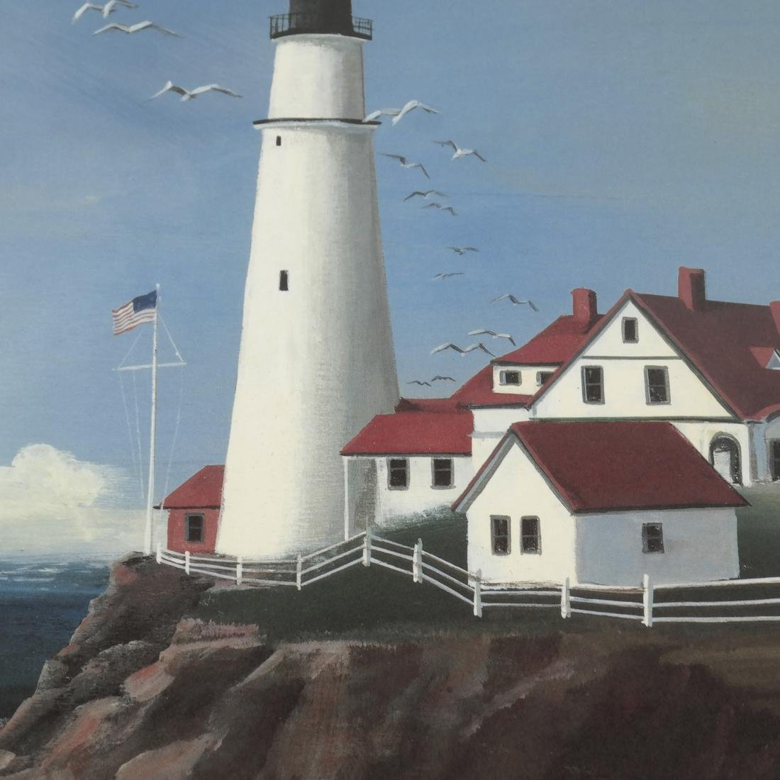 Sally Caldwell Fisher - Two Lighthouse Prints - 4