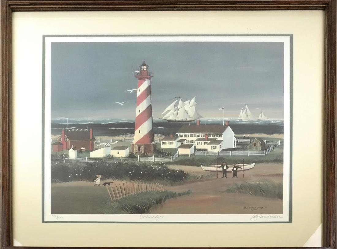 Sally Caldwell Fisher - Two Lighthouse Prints - 8