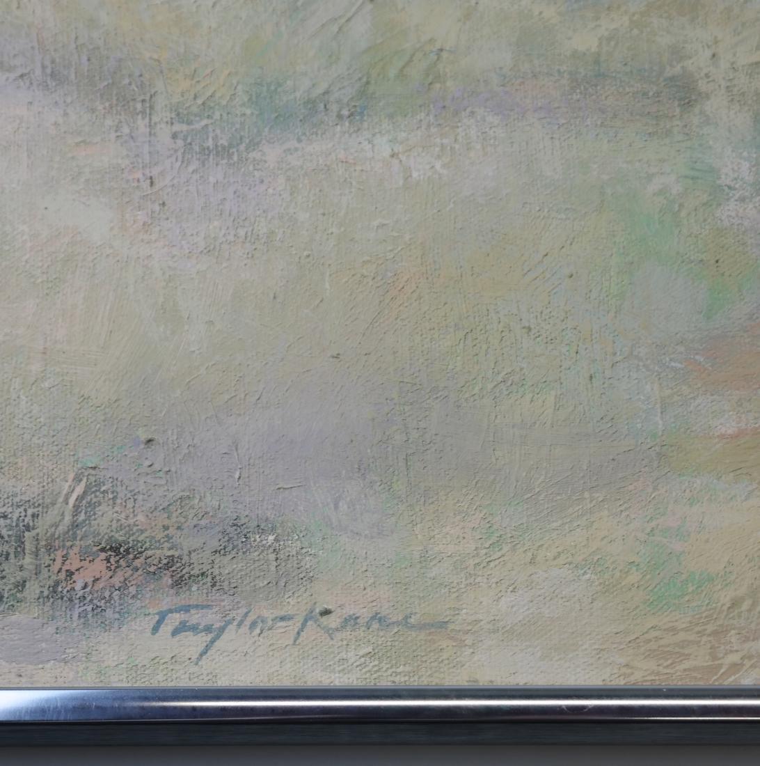 Taylor Kane, Cabanas On A Beach - Oil on Canvas - 3