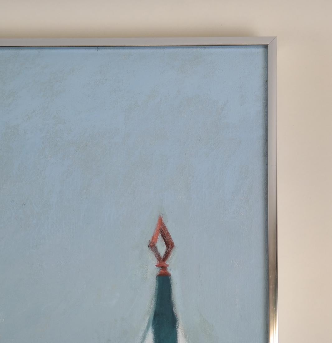 Taylor Kane, Cabanas On A Beach - Oil on Canvas - 5