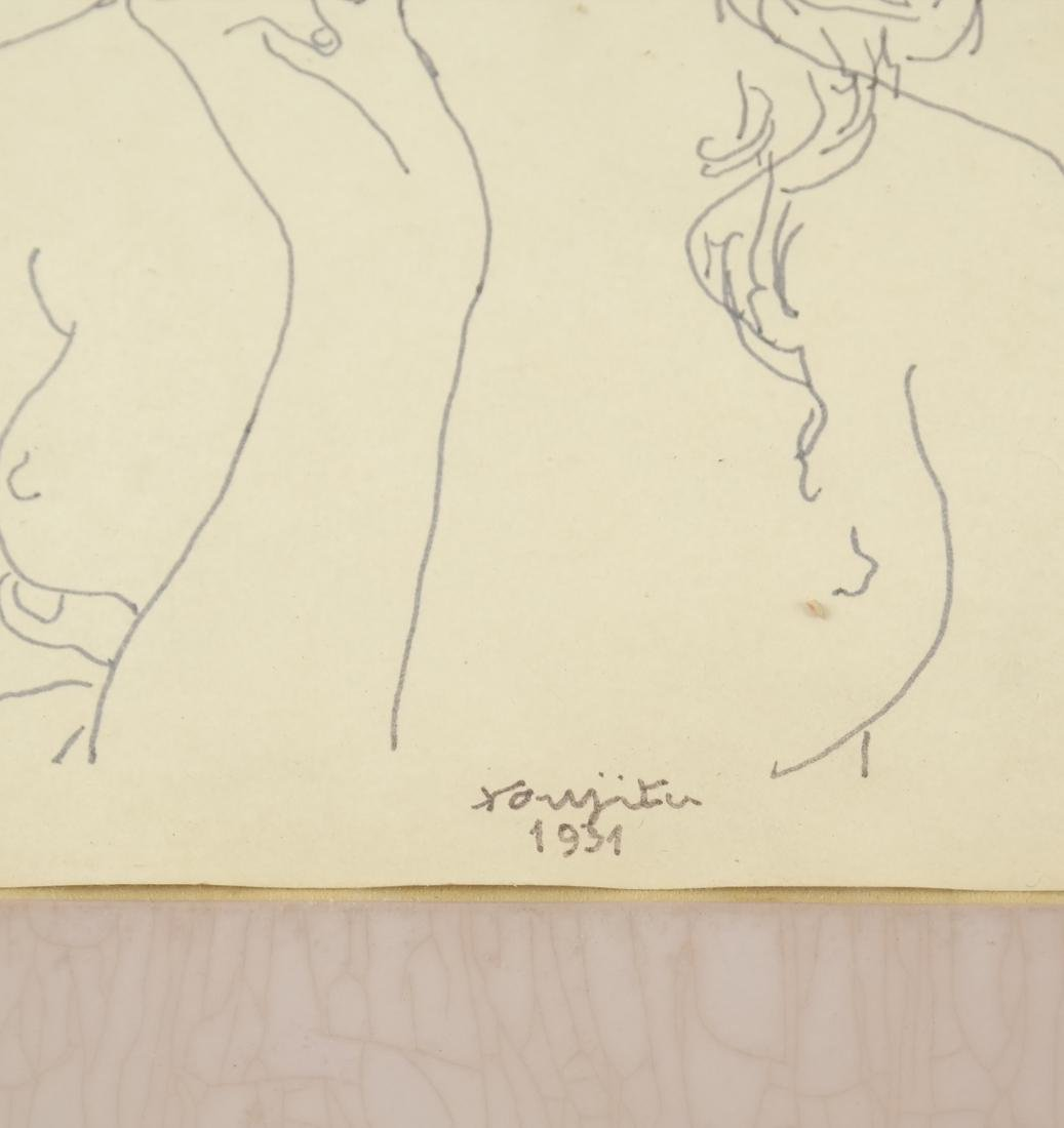 Leonard Tsuguharu Foujita, Pen and Ink - 3