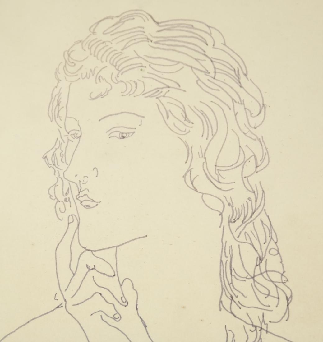 Leonard Tsuguharu Foujita, Pen and Ink - 4