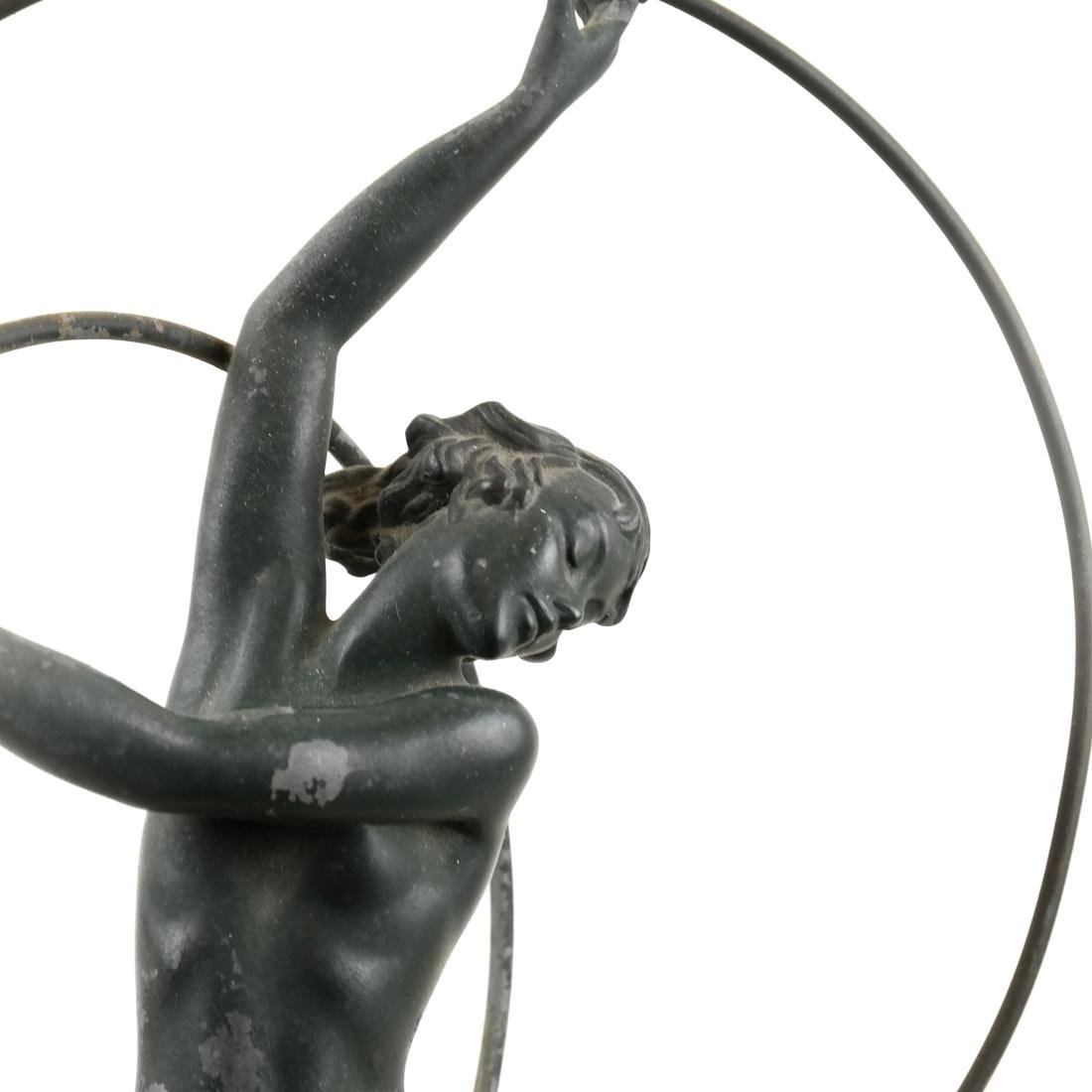 Attributed to Max Le Verrier - Female Nude Hoop Dancer - 2