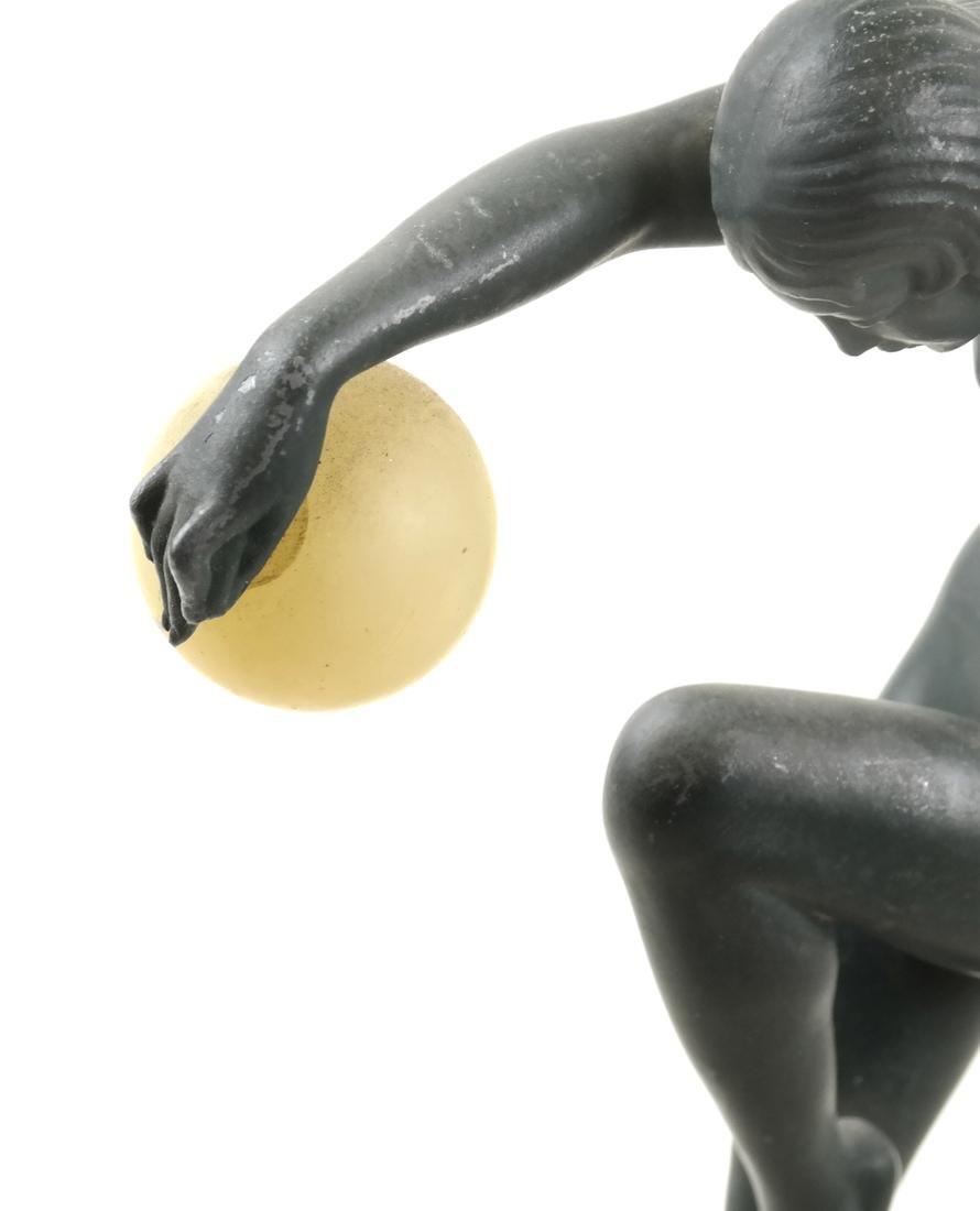 """Denis - Art Deco Figure """"Danseuse aux Boules"""" - 2"""