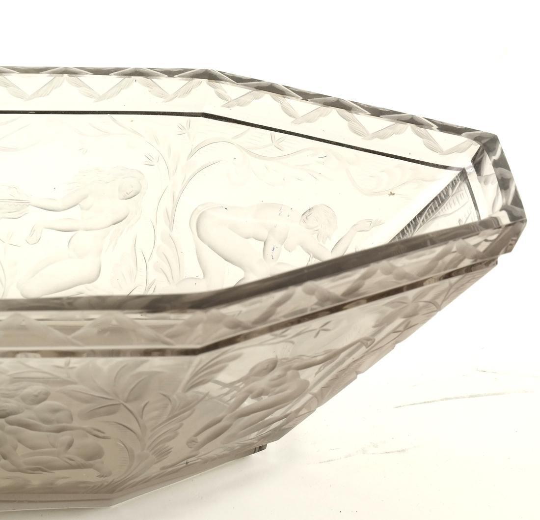 "Orrefors, Simon Gate Design, ""Paradise"" Bowl - 2"