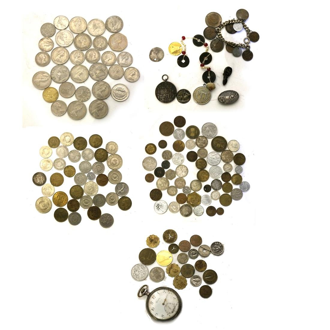 Coins and Assorted Silver