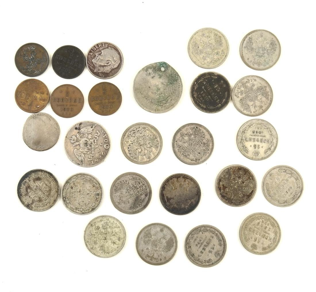 1784 Silver Coin Plus Others